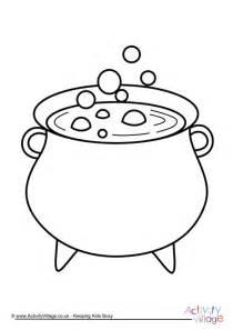 Cauldron Coloring Page cauldron coloring pages