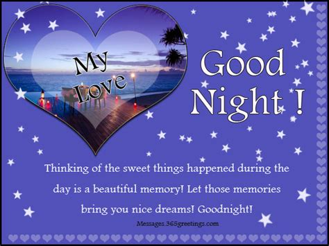 good night message for someone special for him messages 365greetings