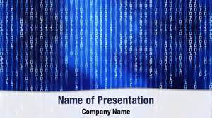 binary powerpoint template binary code matrix powerpoint templates binary code