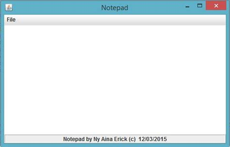 java tutorial using notepad notepad free source code tutorials and articles