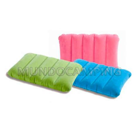almohadas 10 x 10 almohada inflable intex colores mundo cing