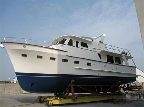 2007 defever 50 pilothouse power boat for sale soft - Displacement Boats For Sale
