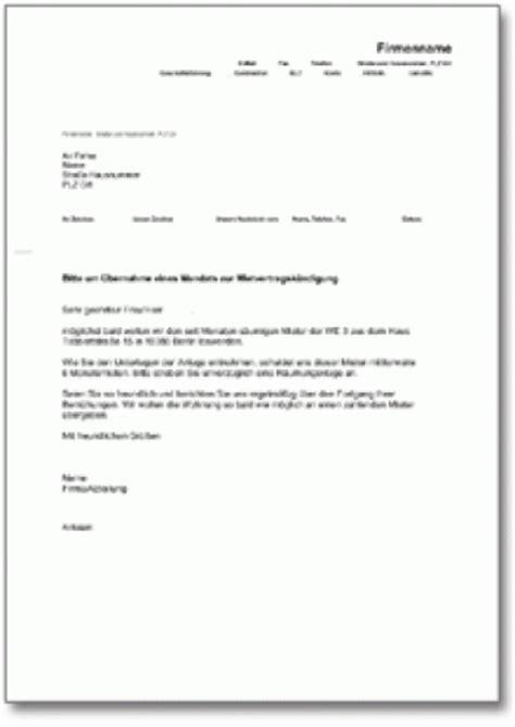 Musterbrief Angebot Abgeben Beauftragung Eines Rechtsanwalts Mit Mietvertragsk 252 Ndigung