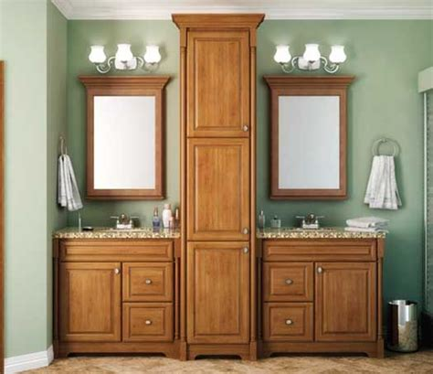 bathroom vanity with tall cabinet starmark cabinetry not this layout but the combo vanity