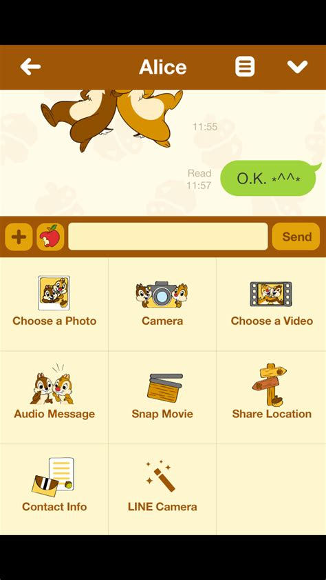 theme line android chip n dale applefreeapps theme line free