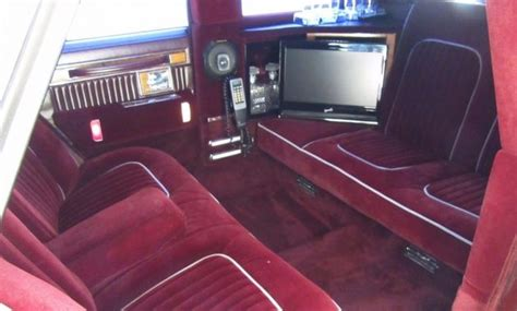 built  presidents  cadillac seville limo