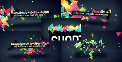 Confetti Burst By Placdarms Videohive After Effects Confetti Template