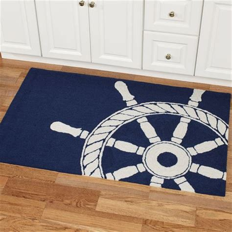 nautical outdoor rug ship wheel nautical indoor outdoor rugs by liora manne