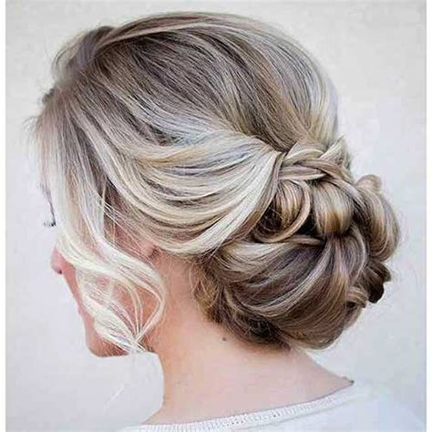 12 pretty updo hairstyles for bridesmaid hairstyles half up models picture