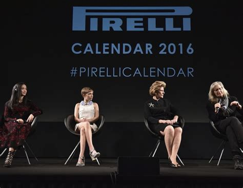 Calendario Pirelli Calendario Pirelli 2016 Le Prime Foto Tu Style