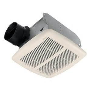 bathroom exhaust fan lowes broan 2 1 2 sone 80 cfm white bath fan lowe s canada