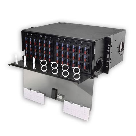 Siemon Rack by Siemon Ric F Sc8 01 4 Duplex Sc Adapters 8 Fibers