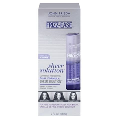 best frizz control products 2013 john frieda frizz ease sheer solution lightweight frizz