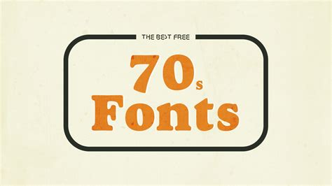 the best free the 12 best free 70s fonts hipsthetic