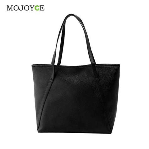 Tote Bag Big simple fashion handbags bags solid shoulder tote