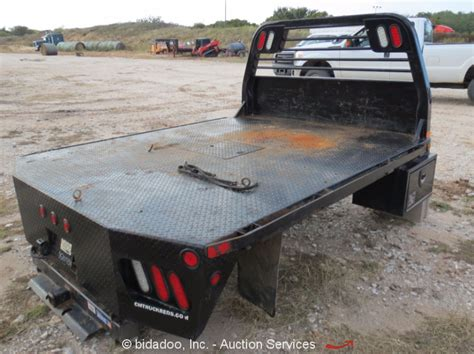 cm headache rack cm truck beds flatbed for ford f250 96 quot x 121 quot 5th wheel
