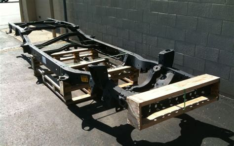 Frame Toyota 2004 2010 this is what a 2000 03 toyota tundra replacement frame looks like pickuptrucks news