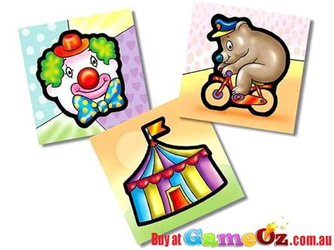 circus puzzle childrens jigsaw puzzle 3 in 1