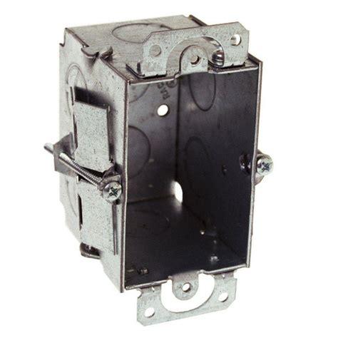 gangable switch electrical box plaster ears