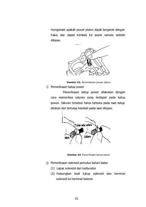Modul Pemeliharaan modul smk pemeliharaan servis sistem bahan bakar bensin