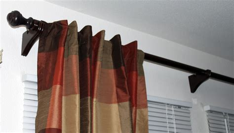 rod curtain diy diva 75 curtain rod for less than 15 tutorial