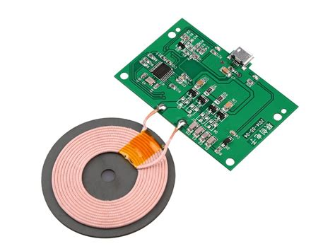 how to make a wireless charger diy qi wireless charger pcba circuit board with coil