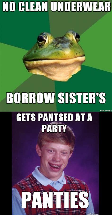 Bad News Brian Meme - bad luck brian shits