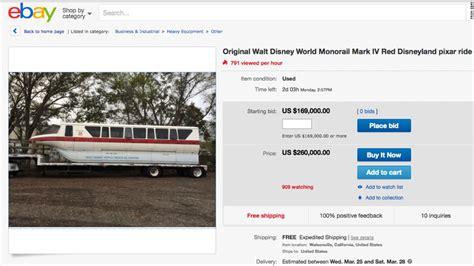 Home Designer Suite 2015 Ebay Walt Disney World Monorail Cab For Sale On Ebay Cnn