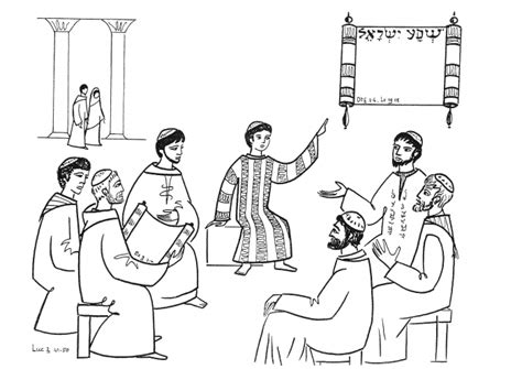 Jesus At The Temple As A Boy Coloring Page Free Boy Jesus In The Temple Coloring Page Coloring Pages by Jesus At The Temple As A Boy Coloring Page Free
