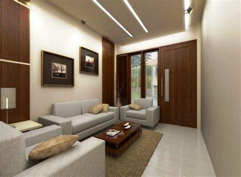 dekorasi desain interior ruang tamu rumah minimalis type  contoh dekorasi  desain