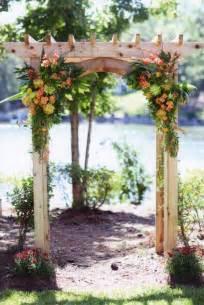 carv diy wedding arbor ideas