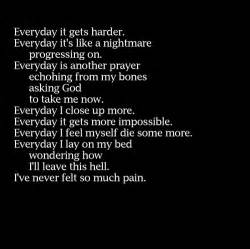 Depressed depression everyday sad text words image 50679 on