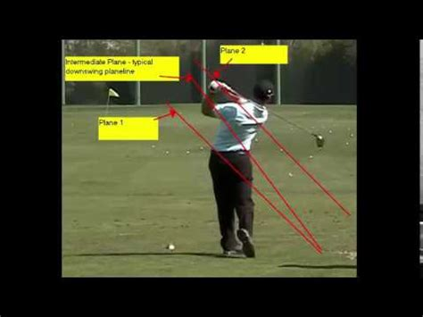 golf swing explained golf swing plane explained with one plane two plane