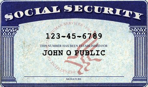 print social security card template the social security card key to your residency