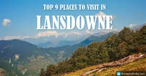 Places To Visit In Image Of Top Places To Visit In Lansdowne My India