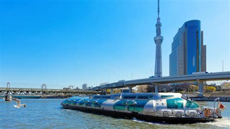 boat ride to japan let s sightsee around tokyo on water bus while enjoying