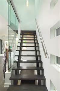 Open Staircase Modern Open Stairs
