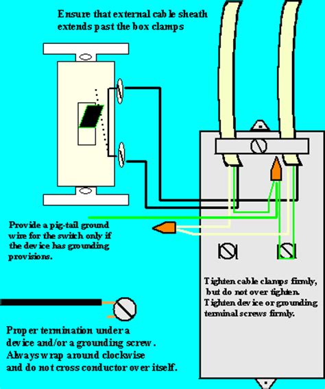 typical light switch wiring diagram image gallery 220 switch connection