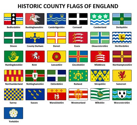 flags of the world england historic county flags of england vexillology