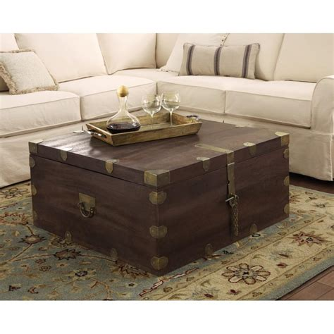 home decorators coffee table home decorators collection langston dark caffe built in