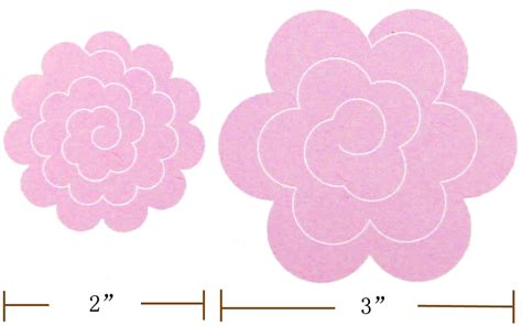 felt rose templates if you don t have big shot machine
