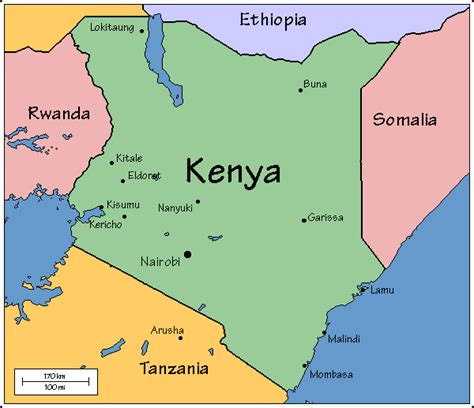 map of kenya map of kenya photos map pictures