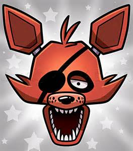 How to draw foxy the fox easy step by step video game characters