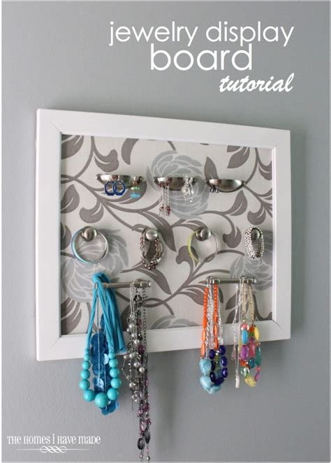 how to make a jewelry display board jewelry display board tutorial the homes i made