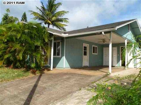 House For Sale In Hawaii by 57 Loa Pl Lahaina Hawaii 96761 Bank Foreclosure Info