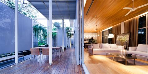 Interior Exterior by Bangkok House With A Unique Take On Privacy
