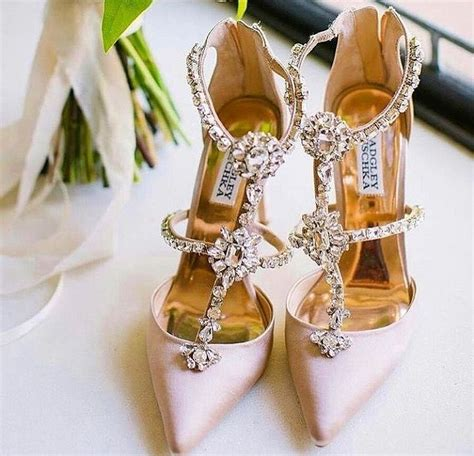 Blush Flat Wedding Shoes by Blush Badgley Mischka Wedding Shoes With Embroidered Accent