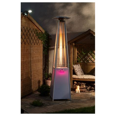 Tahiti Led Flame Tower Patio Heater Tower Patio Heater