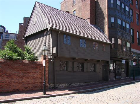 Paul Revere House by Freedom Trail The Paul Revere House