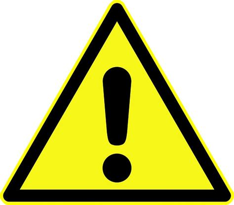 final cut pro yellow triangle exclamation point quot warning sign exclamation mark in yellow triangle